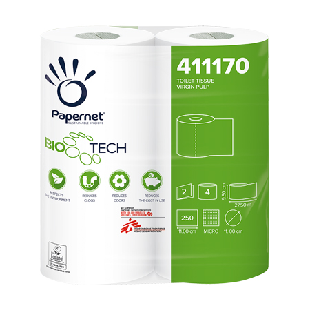 Papernet BIOTECH 2ply Toilet Rolls