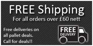 Free Shipping for all orders over £60